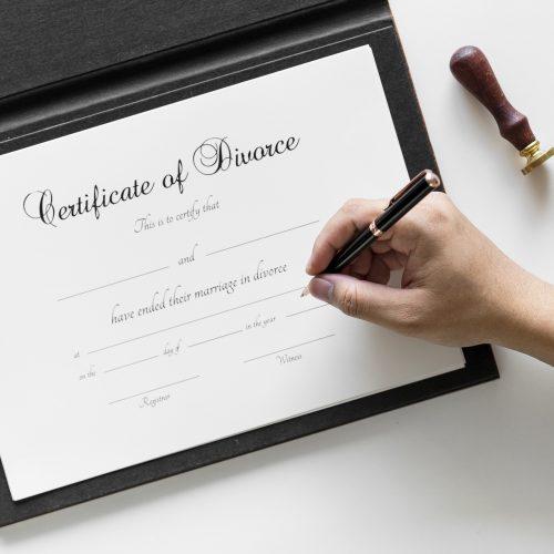 Certificate of divorce by Imperial Visa